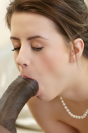 Gabriella Varvara Sucks And Fucks A Massive Black Rod