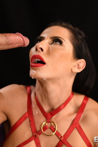 Madison Ivy Sucking Big Cock Until Gets Facial