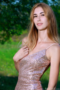 Aileen Dress Slip Down To Bare Her Beautiful Breasts