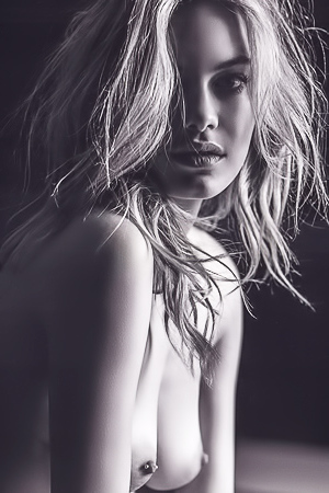 Camille Rowe nude pictures from Angels. Photos taken by Russel James.