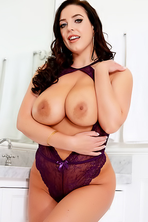 Magic Mirror With Busty Angela White