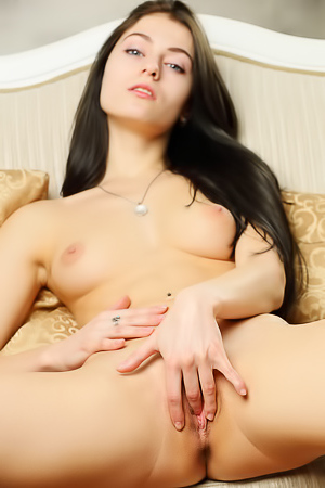Rebecca G Making Her Tight Pussy Wet