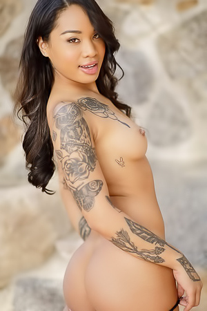 Honey Gold Is A Pretty Asian Sweetheart