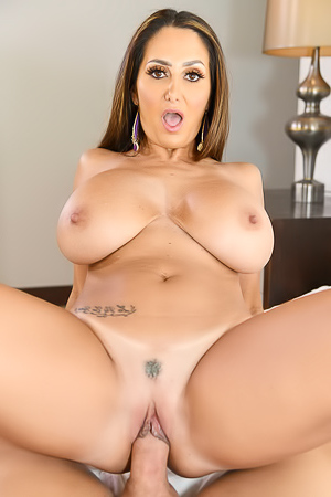 Ava Addams Cum Covered Tits Are Amazing!