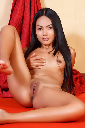 Magen - Sexy Asian girl shows off her petite body while undressing