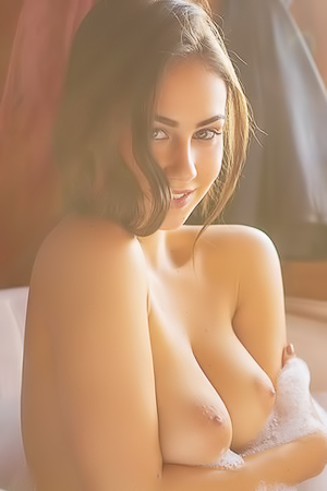 Sophie Limma Nude Getting Into A Warm Bath