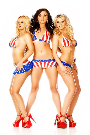 Ava Rose, Bree Olson and Carmen Luvana