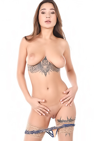 Liya Silver Hot Pornstar With Big Boobs And Tattoos