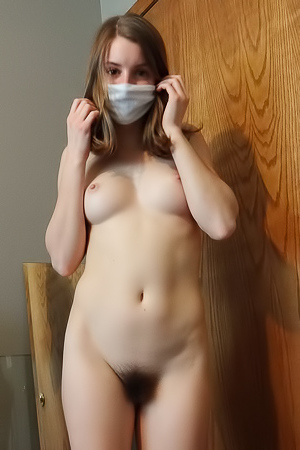 Quarantined Contestant With Hairy Pussy