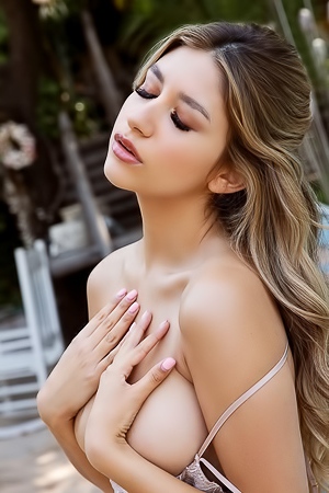 Gina Makes Her Playboy Muse Debut Afternoon Outside