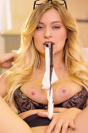 Natalia Starr Is A Sexy Business Woman With Big Boobs